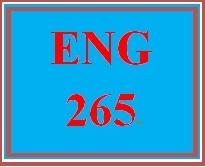 ENG 265 Week 1 Short Story Analysis Worksheet