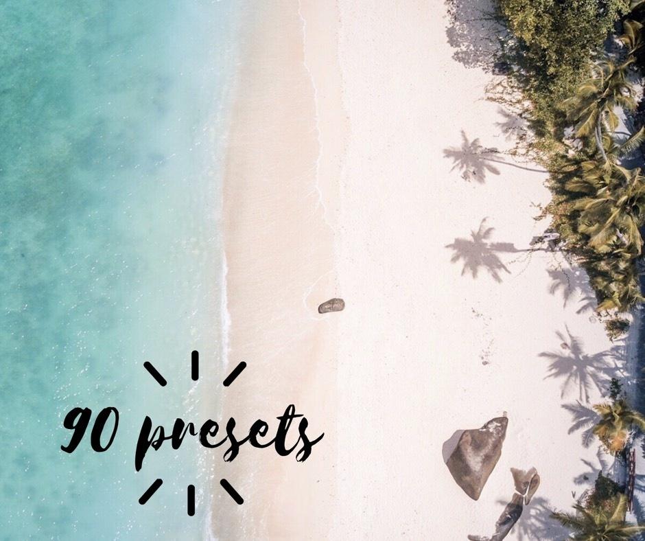 90 Lightroom Presets