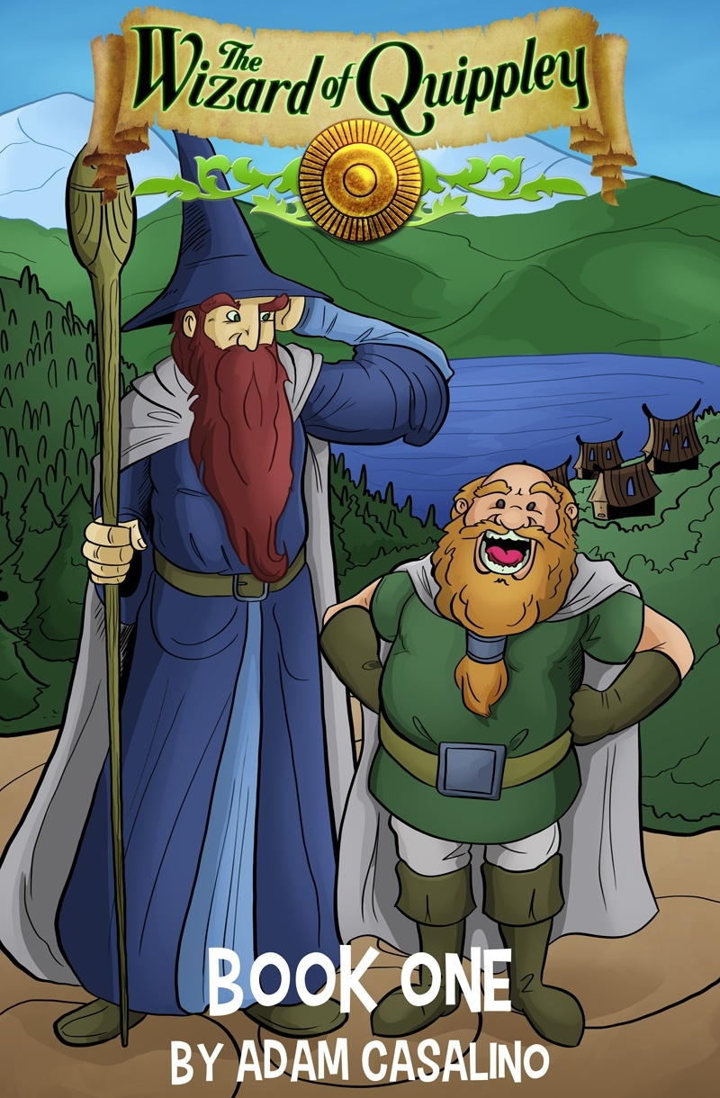 The Wizard of Quippley Collection, Book 1 (CBZ)