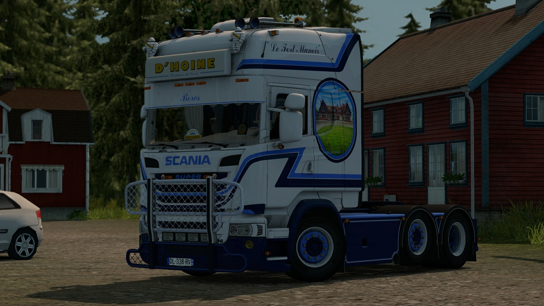 Scania R580 V8 D'Hoine