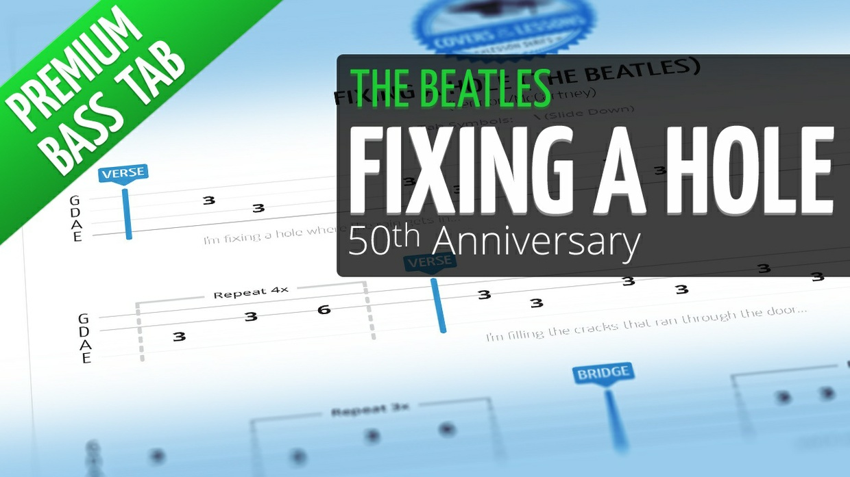 Fixing A Hole (Premium Bass Tab)