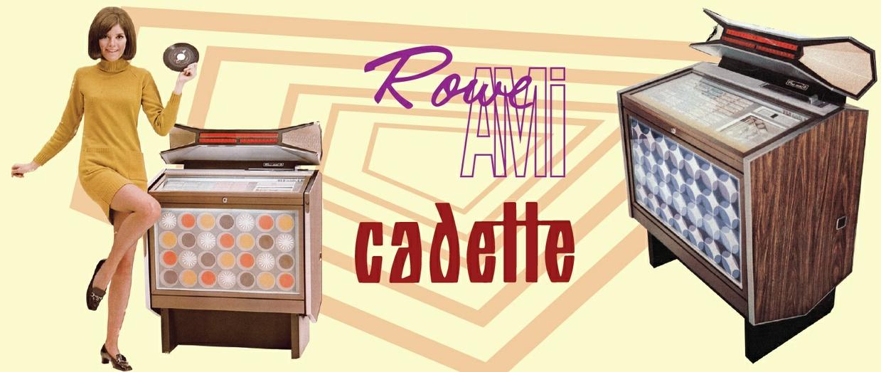 AMI / ROWE  CMM-1 Cadette de Luxe  (1968) Service & Parts Manual with Brochures