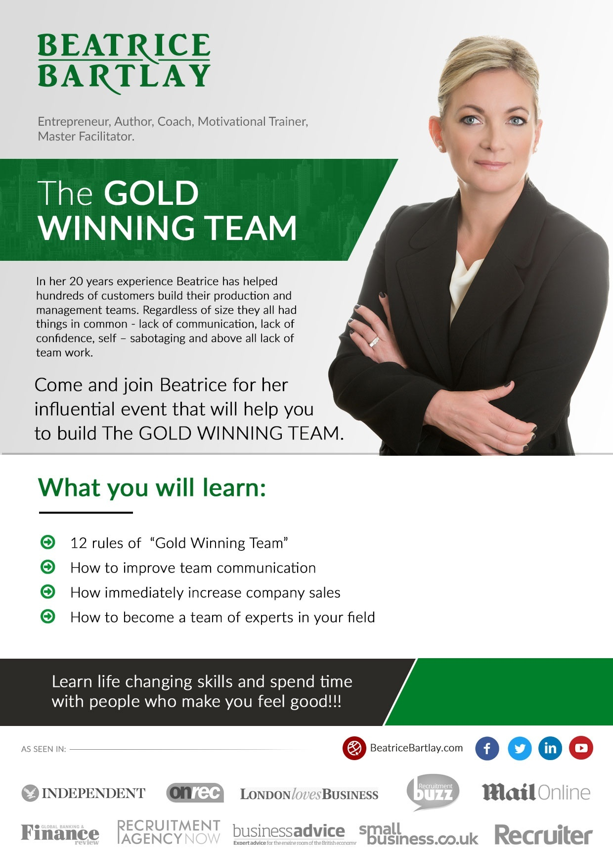 """The Gold Winning Team Corpo"" Seminar"