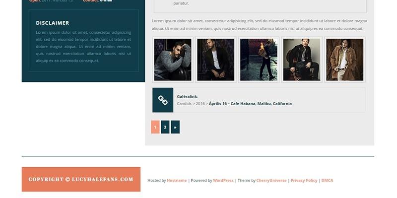 CU WordPress Theme #01