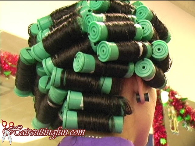 Bee's Green Perm Rod Set at Carmen's Salon