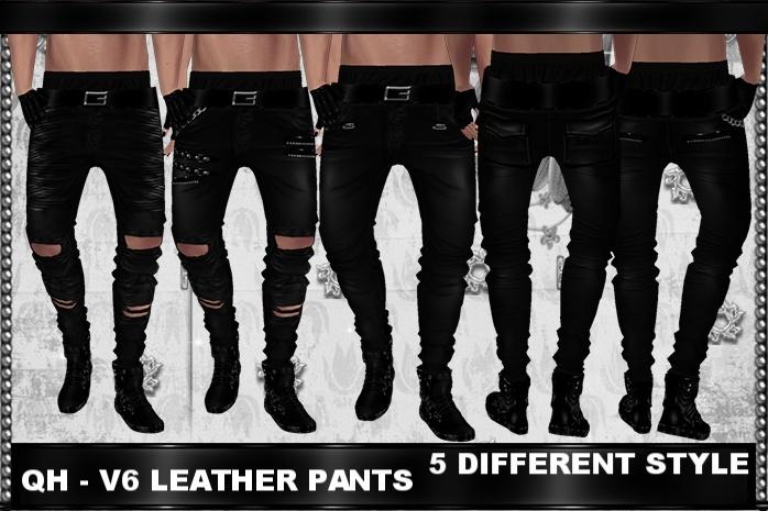 QH - V6 Leather Pants