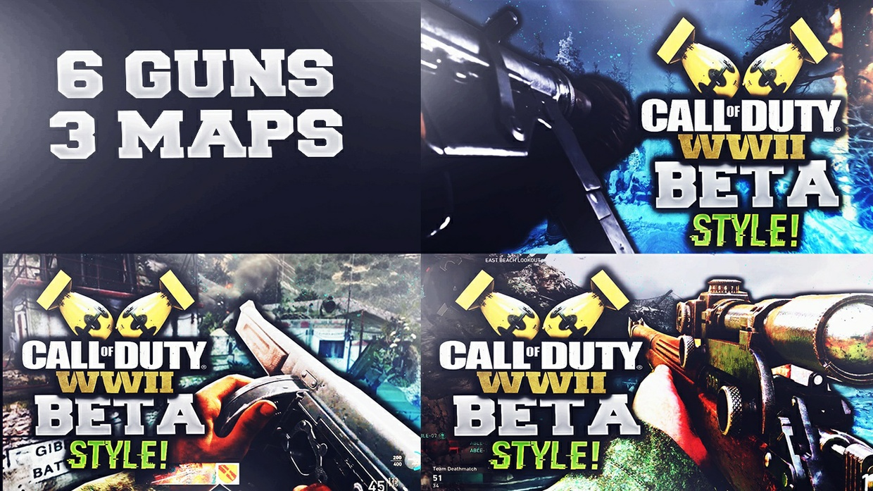 WWII Beta Style Thumbnail Template