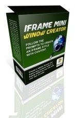 iFrame Mini Window Creator