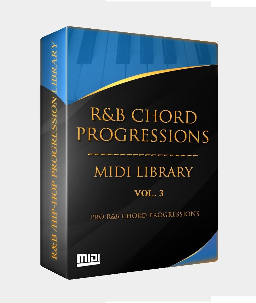The R&B Chord Progressions MIDI Library Vol. 3