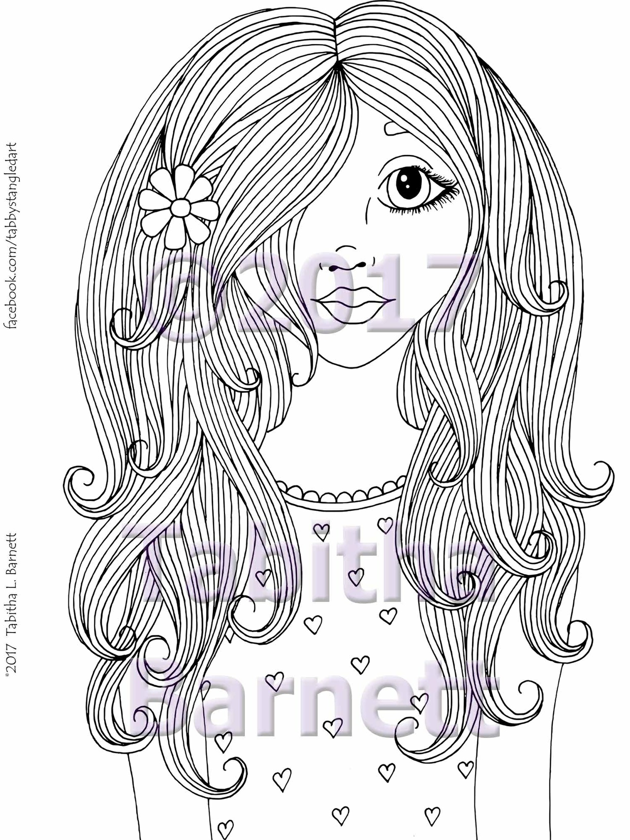 SUNSHINE Coloring Page for Adults