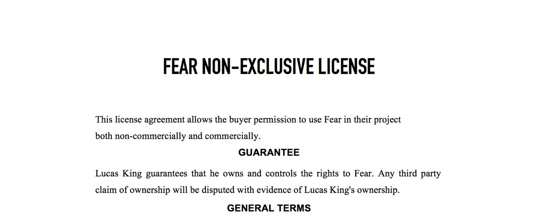 Horror Music - Fear License