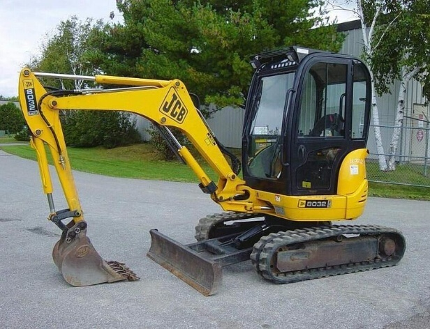 JCB 8027Z, 8032Z Mini Excavator Service Repair Workshop Manual DOWNLOAD
