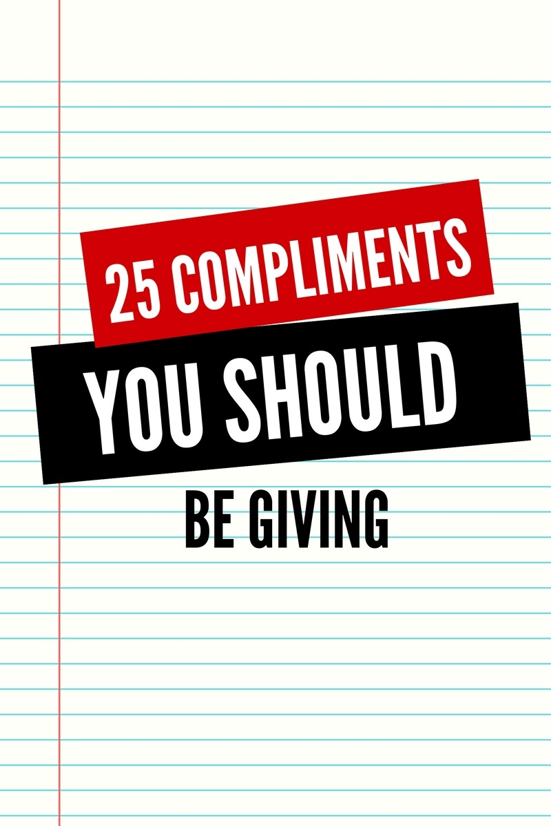 25 Compliments You Should Be Giving Ebook