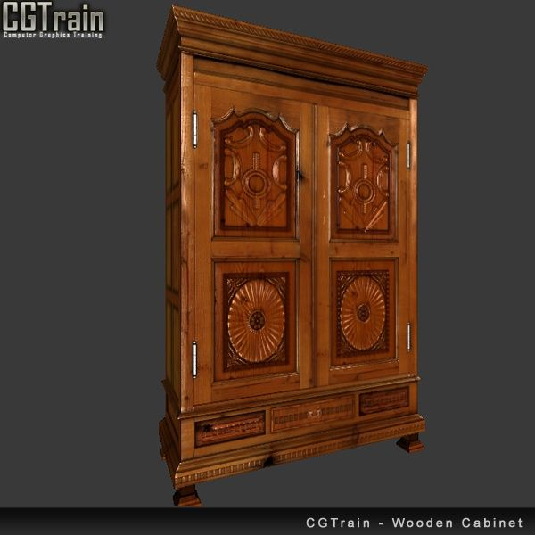 Wooden Furniture Cabinet