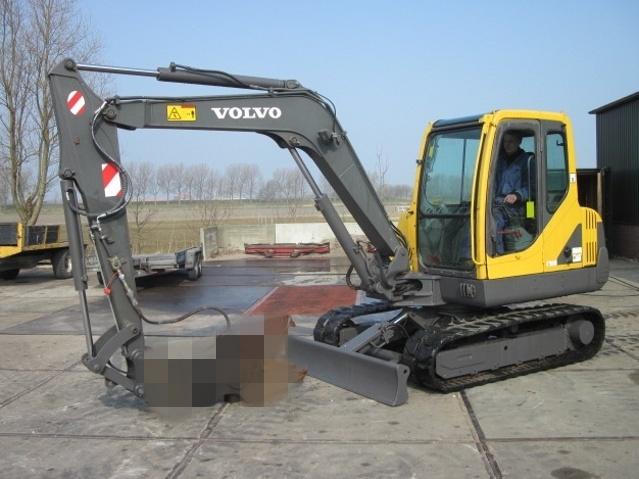 VOLVO EC55-2 COMPACT EXCAVATOR SERVICE REPAIR MANUAL - DOWNLOAD