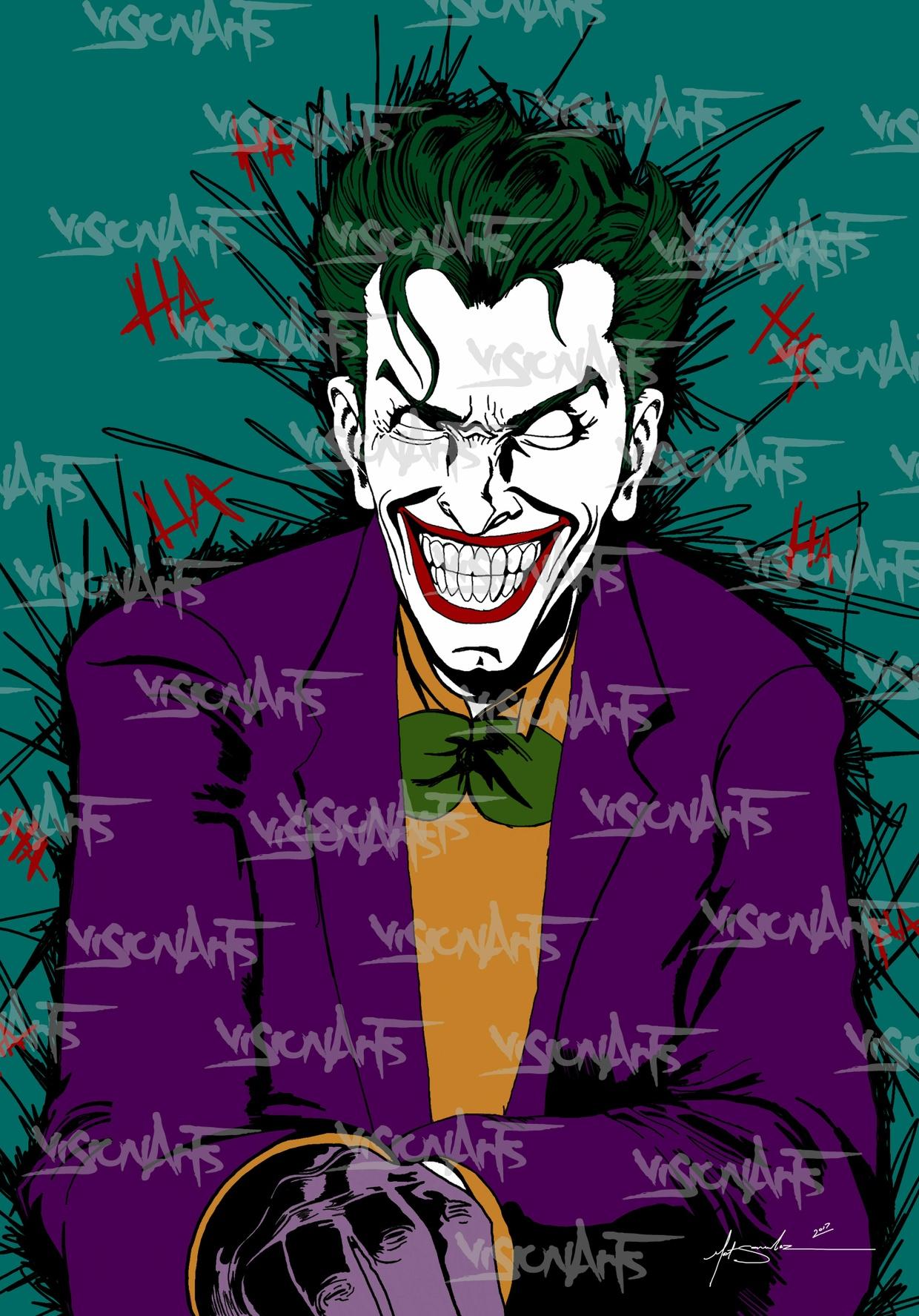 Joker Art Poster