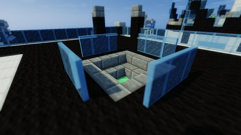 """Future City"" Solo/Dubbles Bedwars Arena"