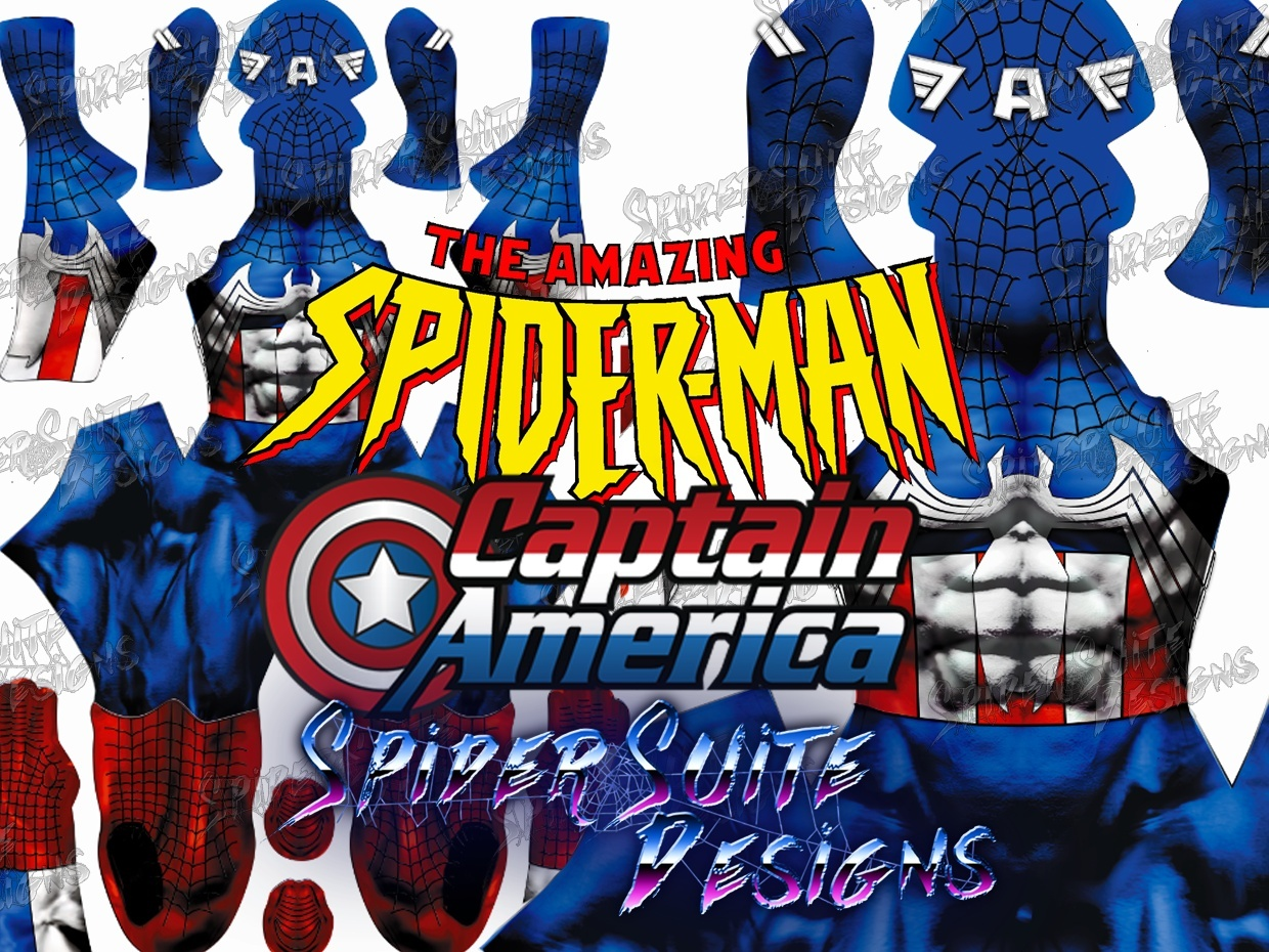 Captain Spiderman 2017 Pattern