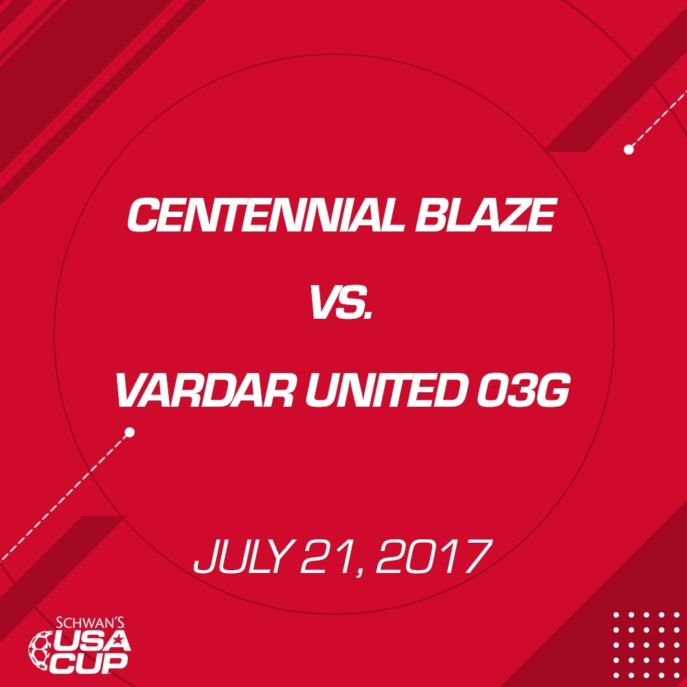 Girls U14 Gold - July 21, 2017 - Centennial Blaze vs Vardar United 03G