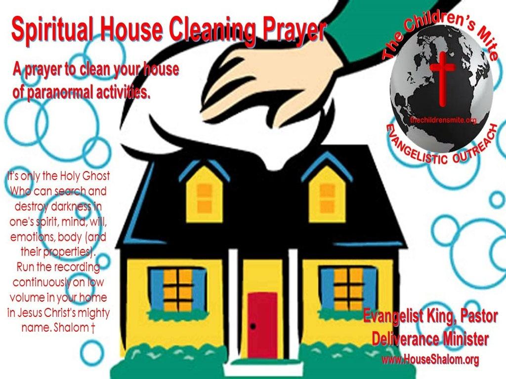 Spiritual House Cleaning Prayer