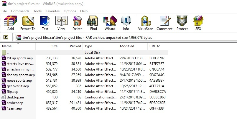 @timsfx's project files (updated)