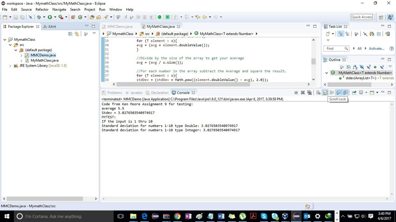 MyMathClass Solution