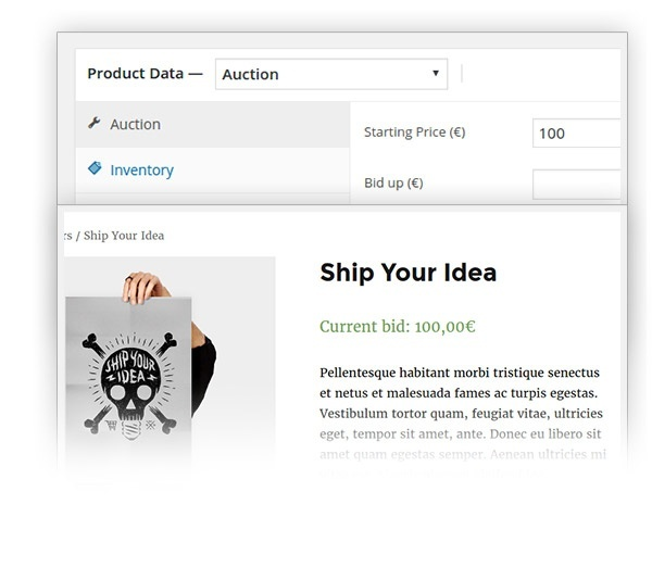 YITH WooCommerce Auctions Premium 1.1.11 Extension