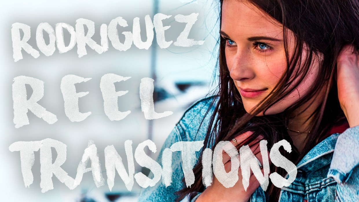 [Pack 2 STANDARD] Rodriguez Reel Transition Presets for After Effects // THOUSANDS of possibilities