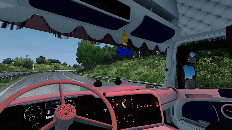 Scania RJL Custom / Holland / Danish Interior ETS 2