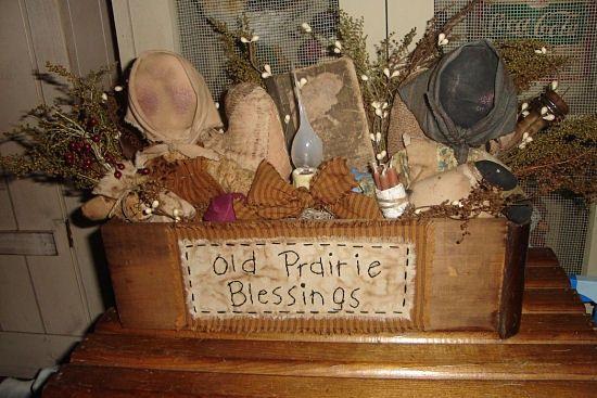 #281 Prairie doll welcome light box e pattern