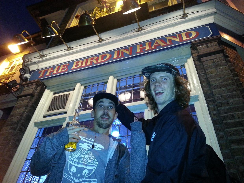 ALEX BURSTON : DAYS & NIGHTS IN LONDON