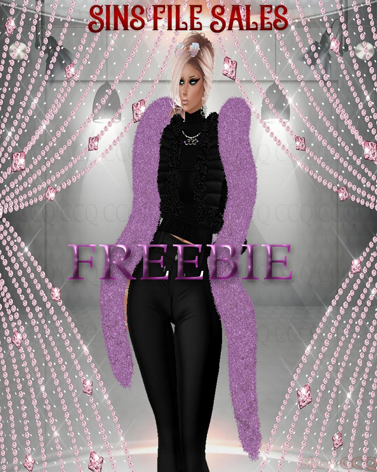 ♥Freebie Fur Wrap♥ CHKN