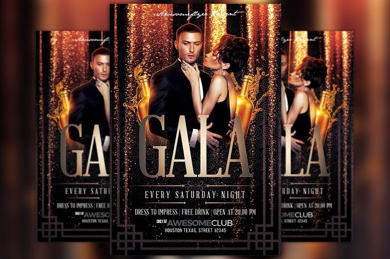 Gala Flyer Template
