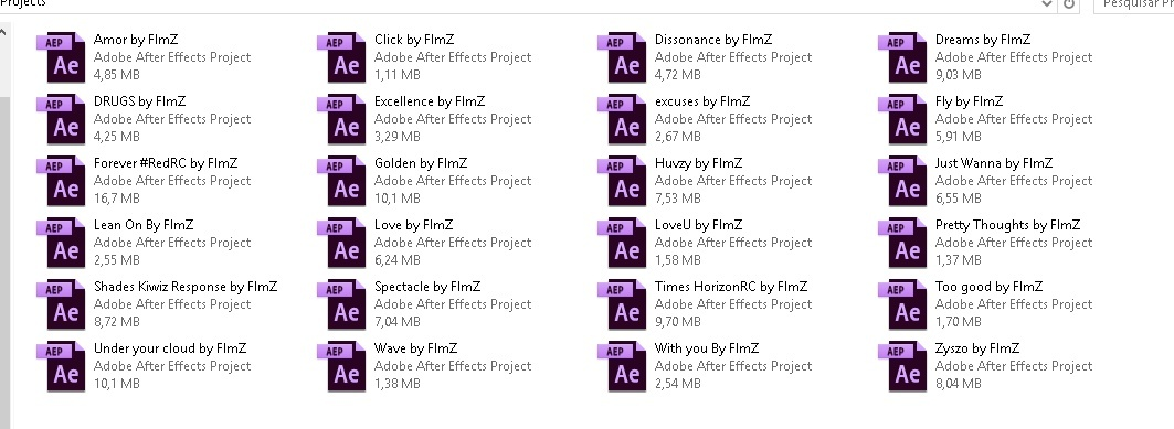 Flamez all projects pack