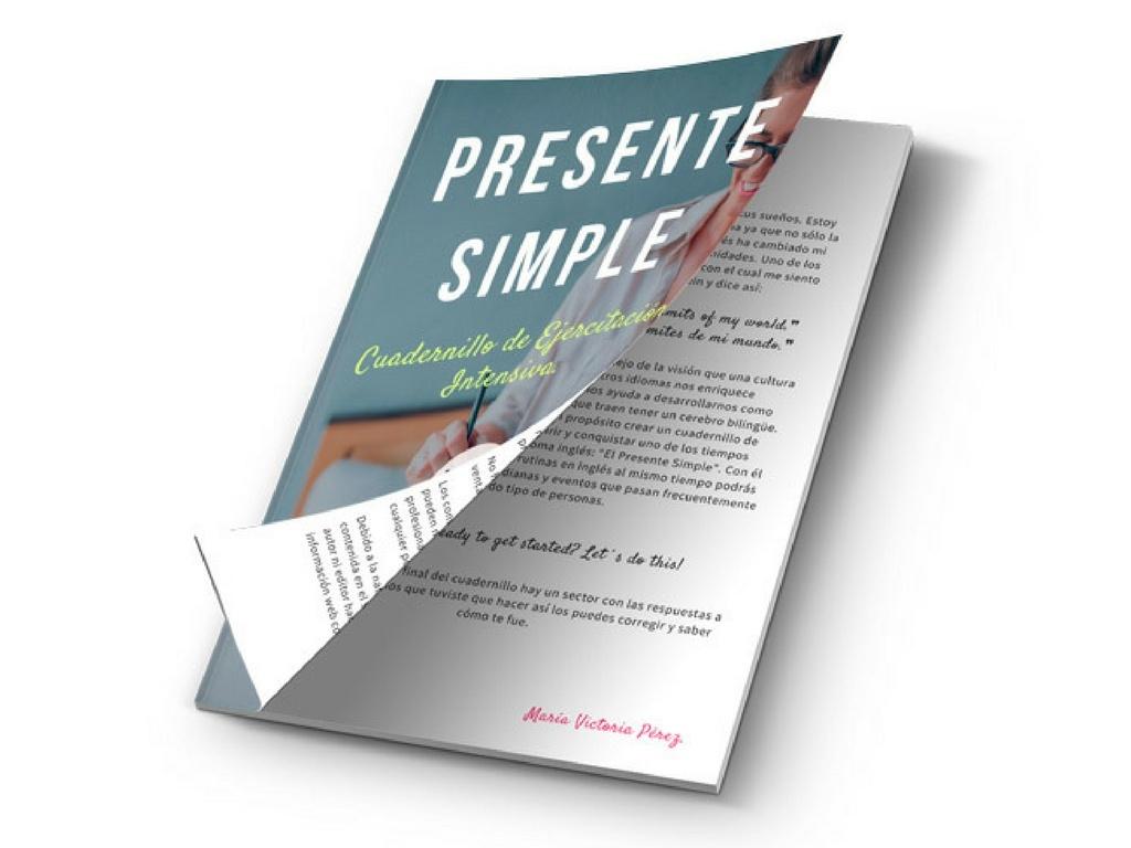PRESENTE SIMPLE cuadernillo de ejercitación intensiva.