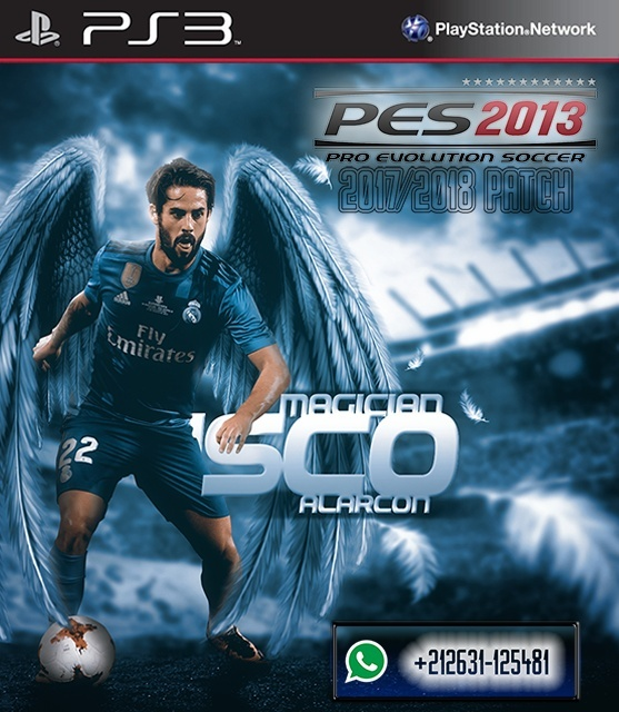 PES 2013 Patch 2017/2018 [PS3 CFW] by Salahhbk