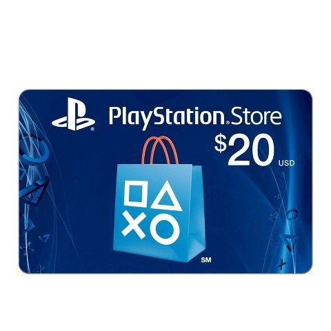 $20 PSN USD CARD
