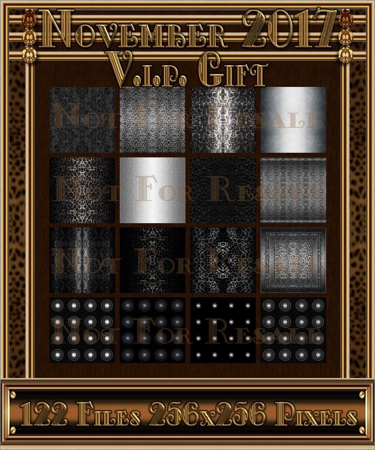 NOVEMBER V.I.P. GIFT 2017