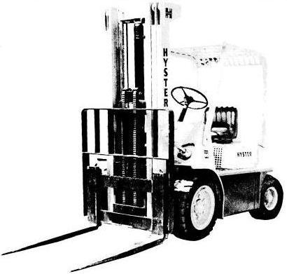 Hyster Diesel/LPG Forklift Truck D003 Series: H30H, H40H, H50H, H60H Spare Parts List, EPC