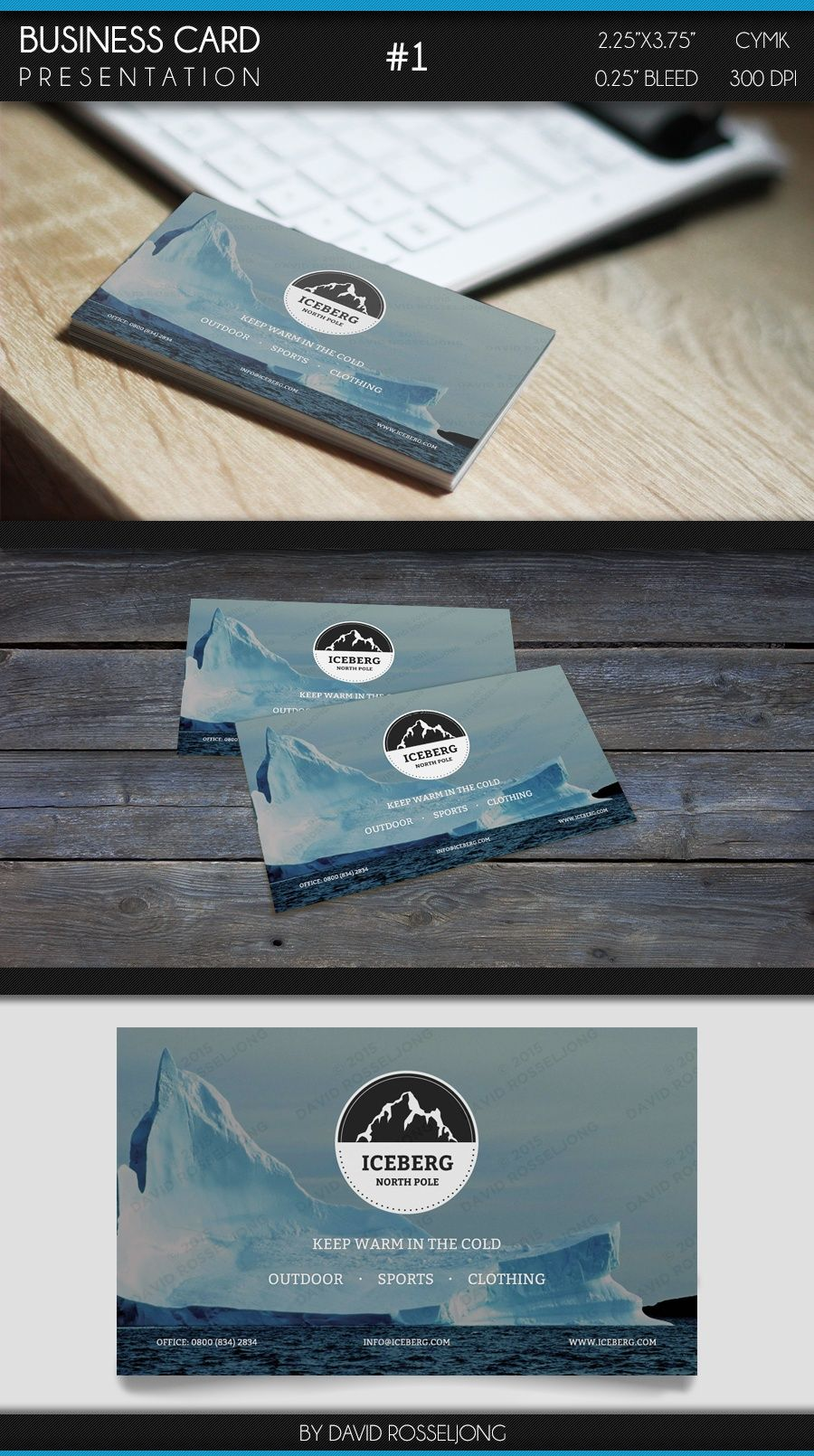 Business Card - Modern, Clean and Elegant #1