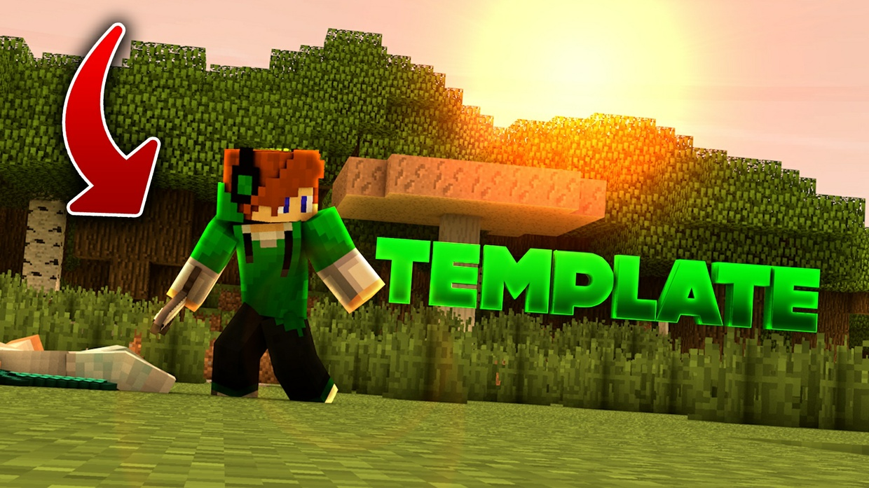 1k Minecraft Intro Template