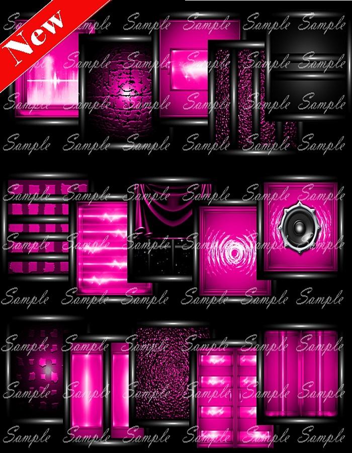 PvC Pink Pack w/anim. Speakers
