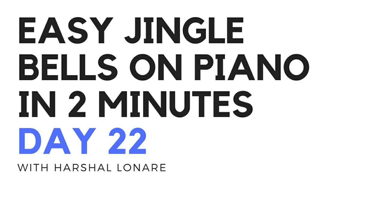 easy jingle bells on piano