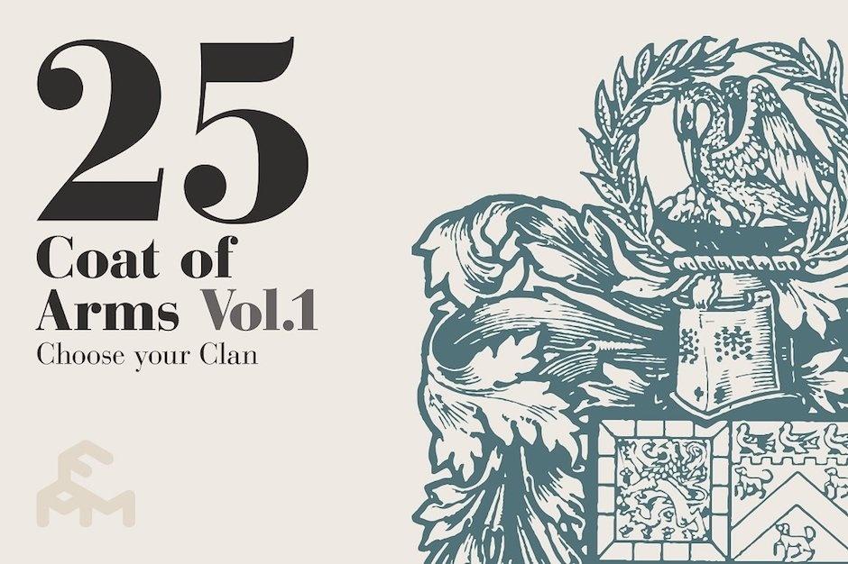 25 Coat Of Arms - Vol.1