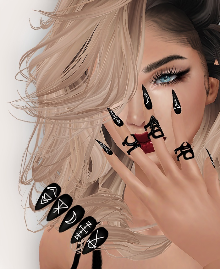 Widow Nails & RIngs - RESELLS RIGHTS