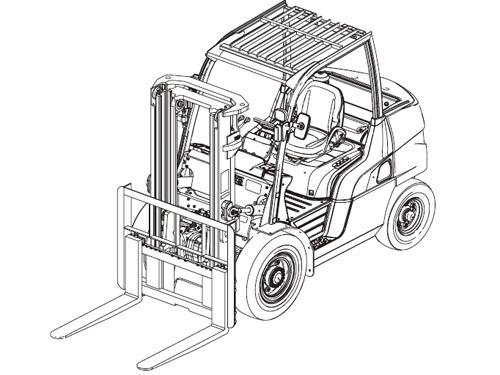 Caterpillar Cat DP80 DP90 lift Trucks Service Manual Download(SN:T32B-00011-09999 50001-59999)