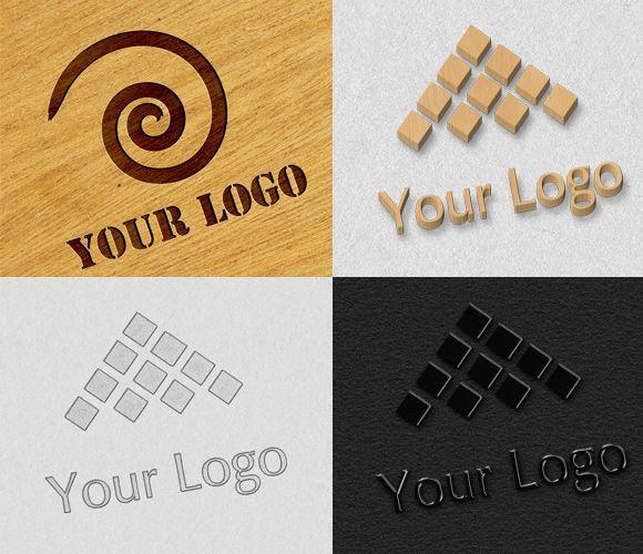 Modern Logo Mock-ups