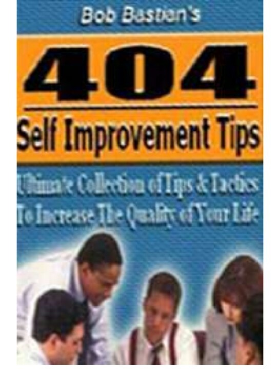 FREE eBook With Master Resell Rights MRR 404 Self Improvement Tips