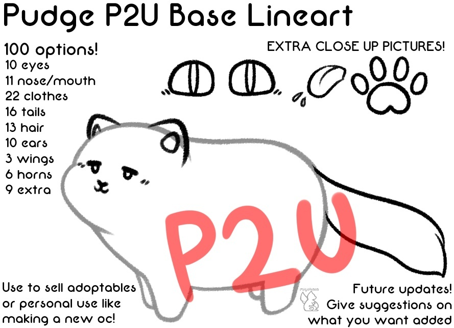 Pudge Base Lineart 1.0