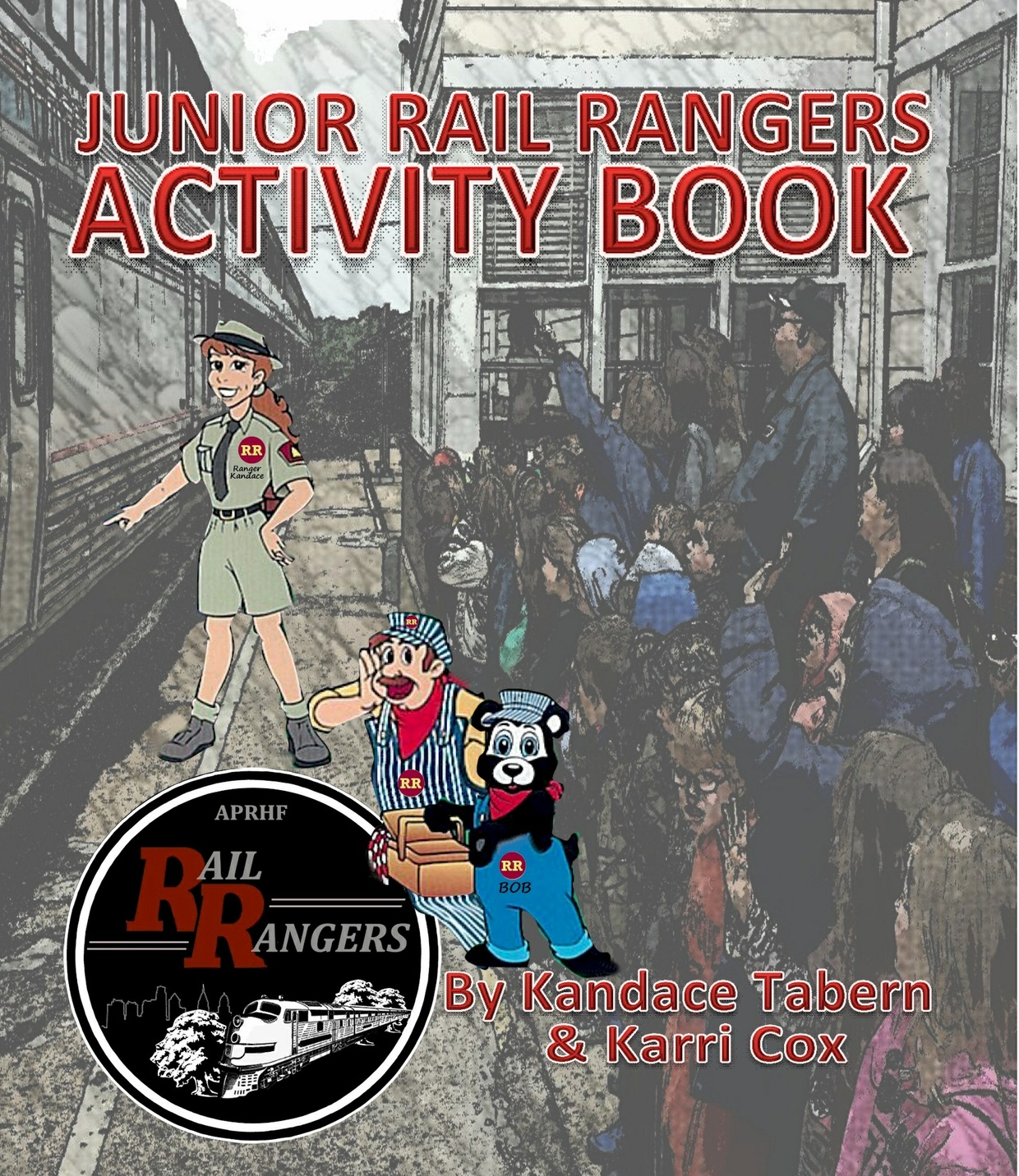 Junior Rail Rangers Activity Book (Activity Book ONLY)